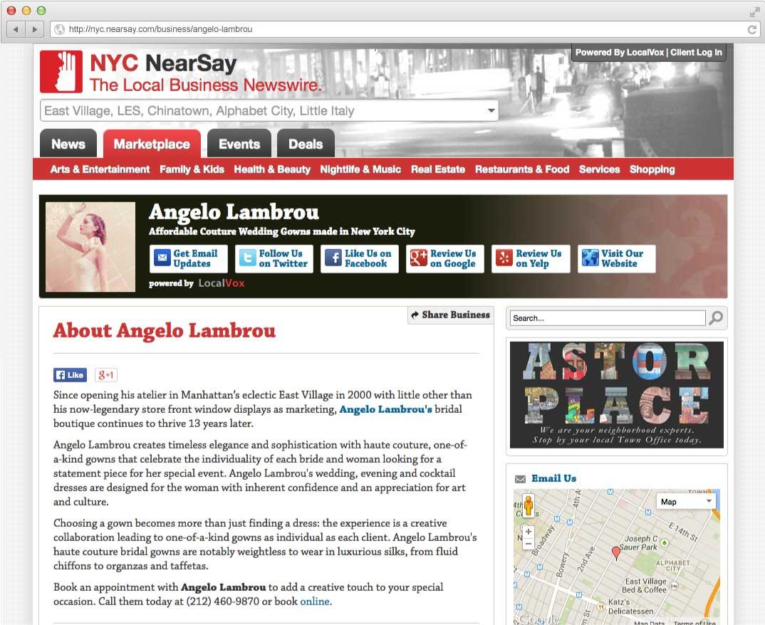 Angelo Lambrou NearSay