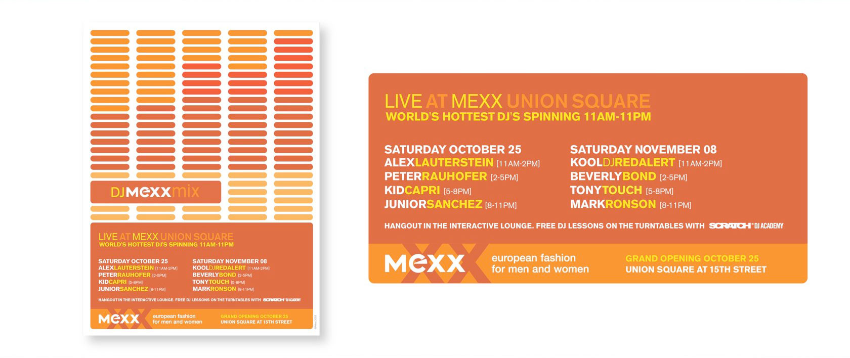 Mexx: DJ Promo