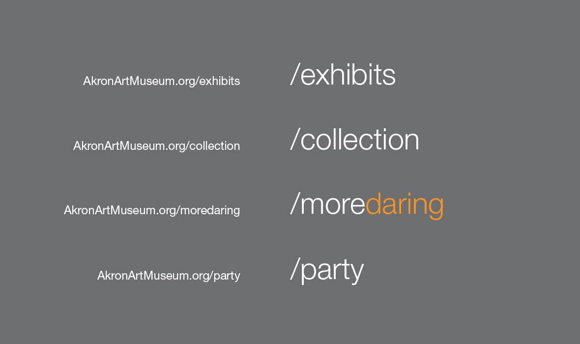 Museum Headings