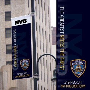 NYPD Banners