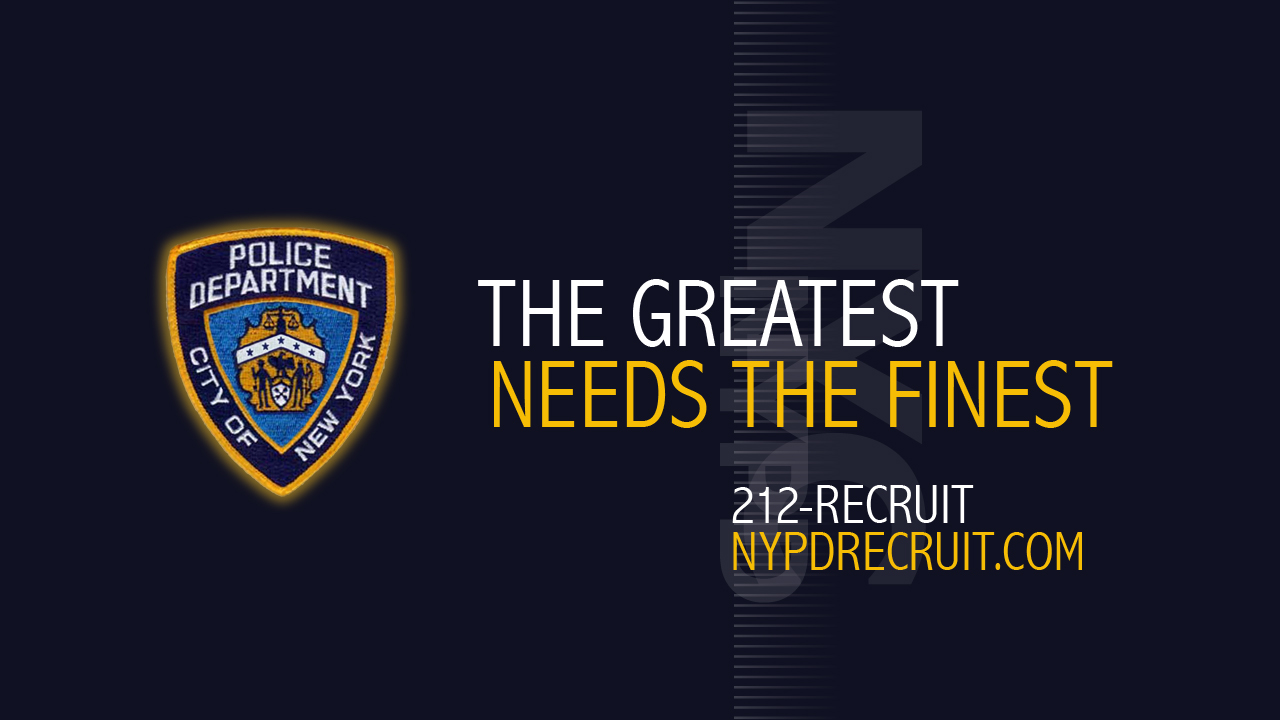 NYPD The Greatest Needs the Finest