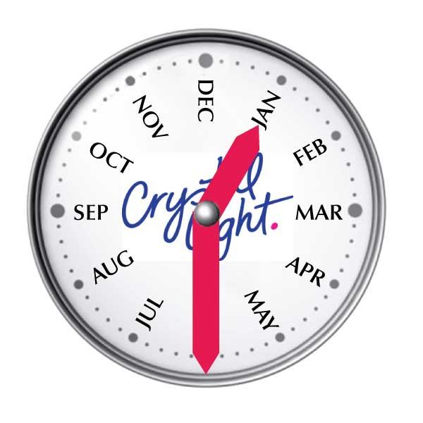 Crystal Light Watch