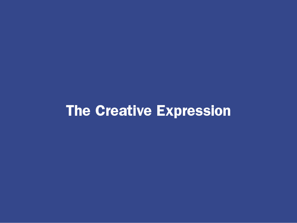 Greater Than Good Creative Expression