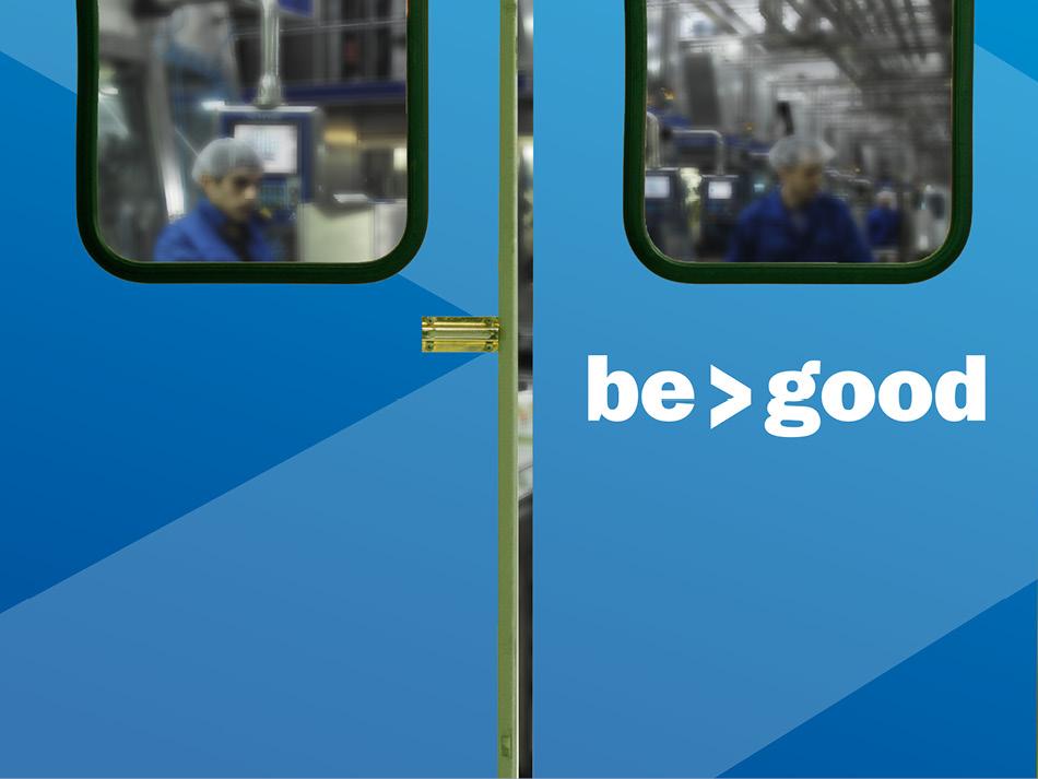 Greater Than Good Factory Door