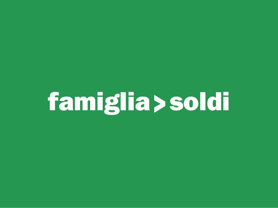 famiglia > soldi