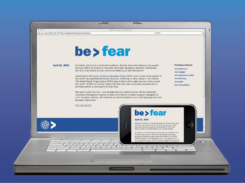 be > fear