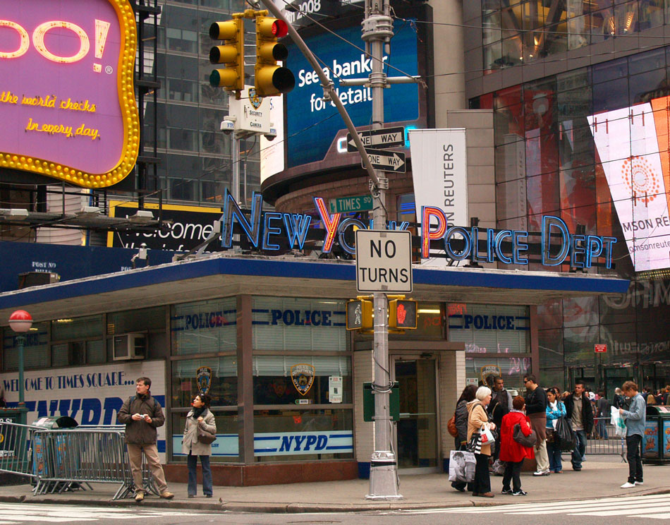 Times Square Before