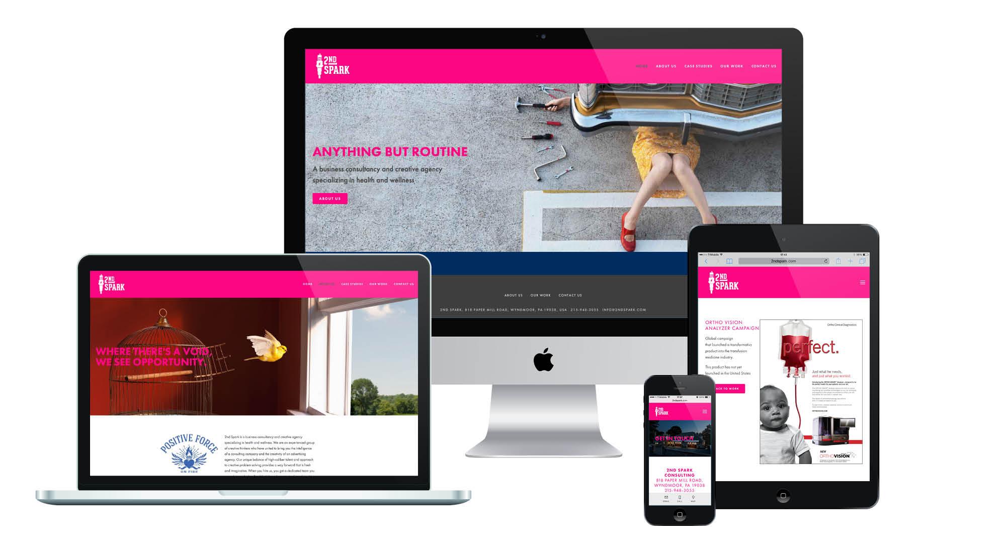 2nd Spark Responsive Website