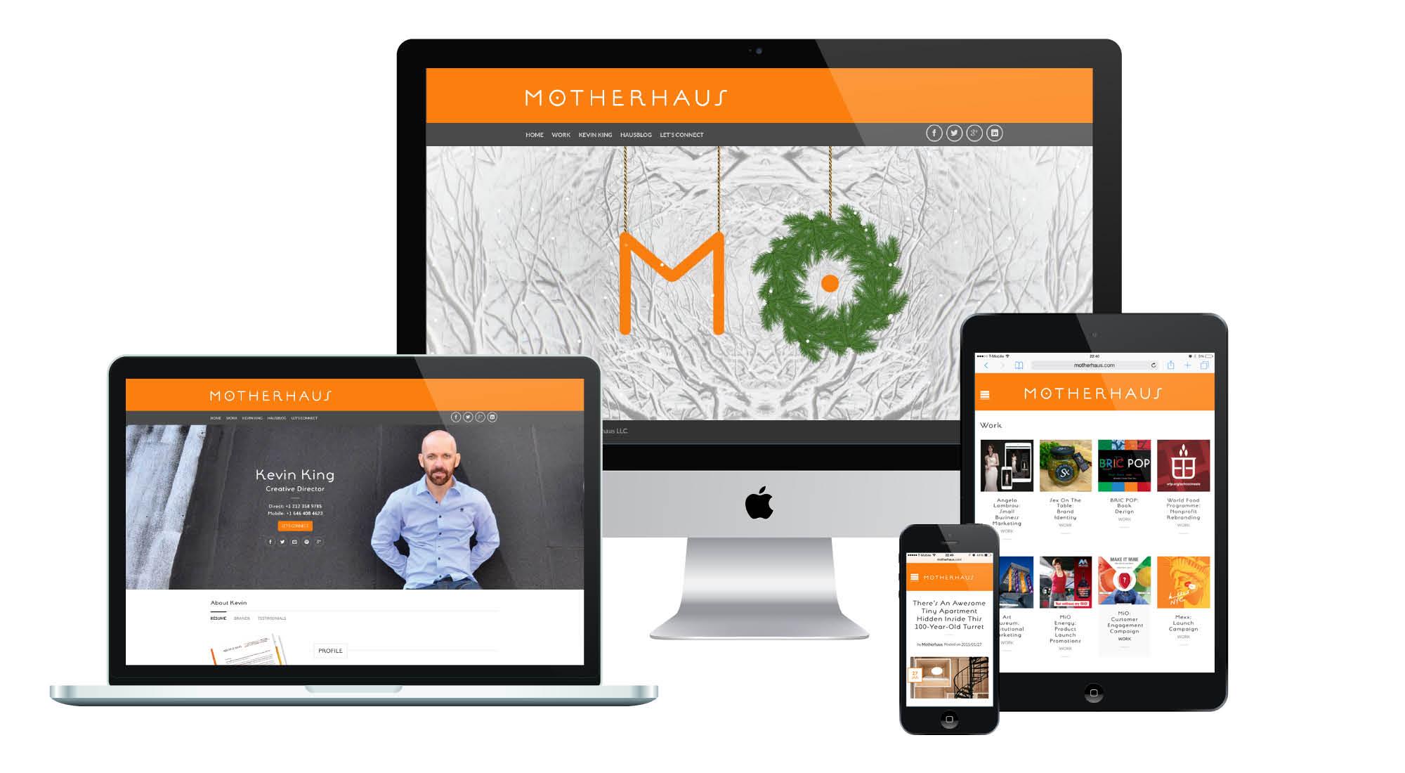 Motherhaus Responsive Website