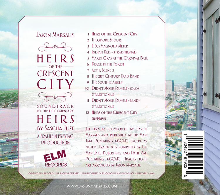 Heirs of the City - Back Cover