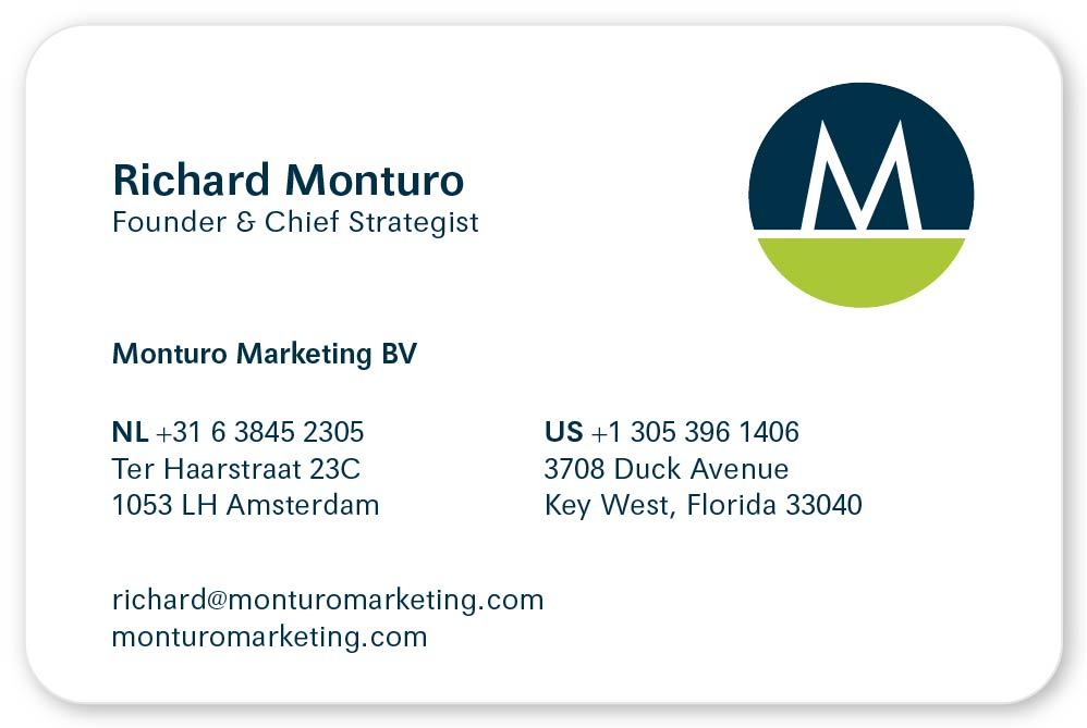 Monturo Marketing - Front