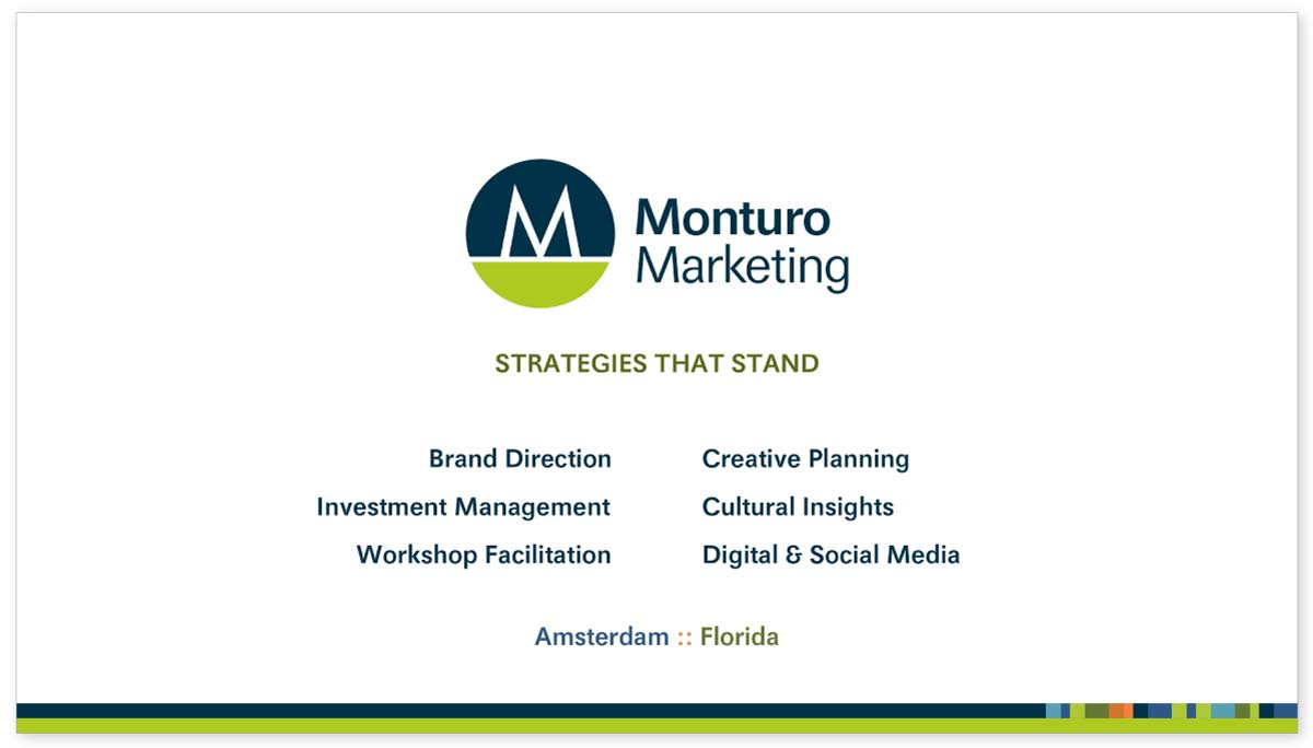 Monturo Marketing - PowerPoint Template
