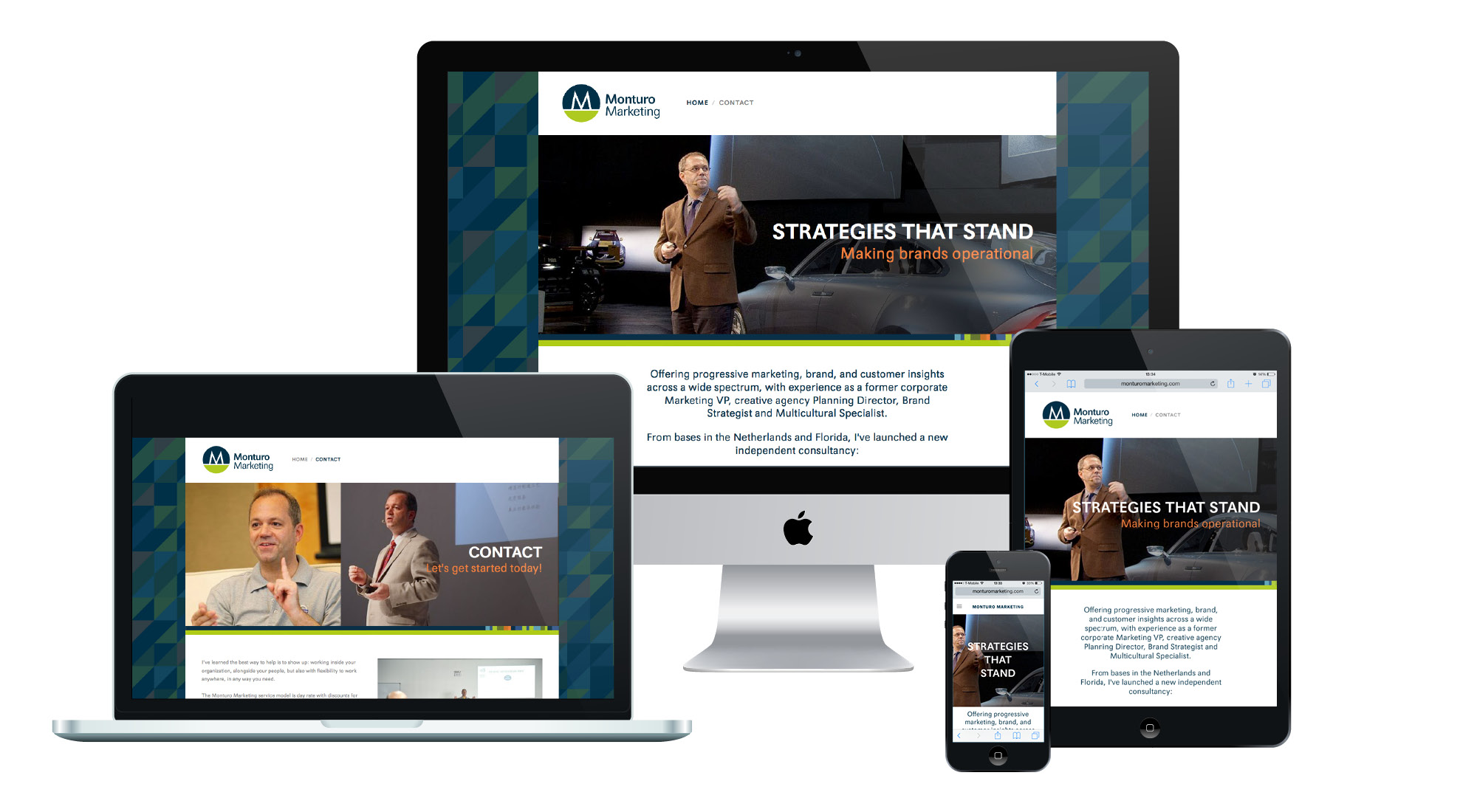 Monturo Marketing Responsive Website