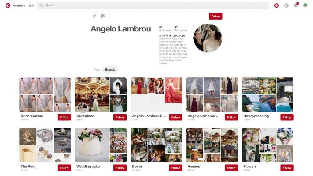 Angelo Lambrou Pinterest