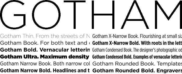 Gotham Variants