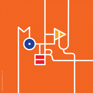 Motherhaus Bauhaus Orange